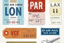 Vintage Typography Style