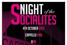 Night of the Socialites / Kandy Friday's at Cappello PMB