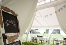 M A R Q U E E  S T Y L I N G / Love looking at all the gorgeous ideas and what we can create in our tents.