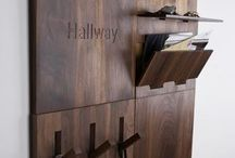 Interior hallway/stairs