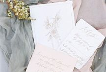 pretty paper / wedding invitations, vows and other wedding paper goods