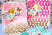 Papercrafting Tutorials + Videos / DIY projects, step by step tutorials, tips and tricks.