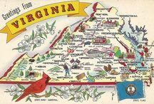 Virginia and W. Virginia