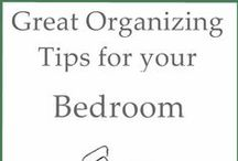 bedroom / Bedroom cleaning and organization tips