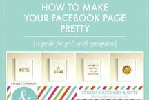 facebook / Tips and advice for using facebook to help grow your blog or business.