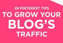 pinterest tips / Tips and advice for using pinterest for bloggers