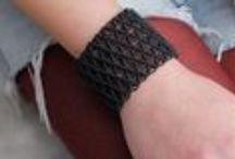 Macrame bracelets handcrafted by Nawal!!