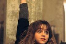 hermione & poudlard
