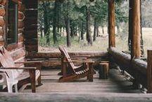 Cabin / Мужская обитель, дизайн, дома, идеи интерьера.  Manhouse - Shelter - Haven