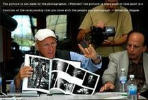 Photographer Quotes / Insightful, inspiring & humorous quotes from great photographers.