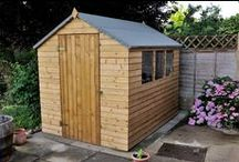Sheds / Does your shed roof have a hole in it? Is it time for it to be banished from the garden because it has become an eyesore? If you have answered 'yes' to at least one of the above questions then feast your eyes on our impressive range of pressure treated sheds!  Garden sheds don't have to be a blot on your well kept garden! Our simple, yet attractive designs will complement any style of garden without upstaging your valuable garden ornaments!