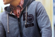 College Graphics / Selection of found Collegiate Apparel & Graphics