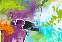 Rino Larsen KUNST -  Rino Larsen ART / Min kunst, trykk, grafikk, maleri. My paintings, print, art.