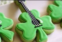 Shamrock ~ St Patrick's Day ~ Irish  /  Fun crafts, printable's, Irish Proverbs, projects, recipes & Decorations for St Patrick's Day. / by Robyn Williams