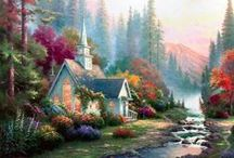 Thomas Kinkade / Painter Extraordinary