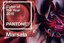 Marsala- Pantone's Color of 2015 / Here is everything marsala!