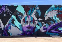 Phoenix Urban Art / Wall Art, Murals, Urban Art, Public Art, Street Art and City Art in Phoenix, AZ. #UrbanArt #StreetArt http://modeapts.com/art/