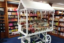 Candy Carts / Our range of Candy Carts are perfect for a multitude of uses; events, festivals, weddings, shops and even as garden ornaments. Made from thick slow grown spruce timber, these are customiseable for any use making them perfect for rentals and businesses.