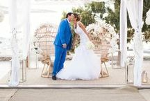 Chic Mykonos Wedding with the Most Vogue Couple