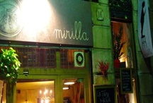 Mirilla / Mirilla is the first spot we wanted to suggest in Barcelona section. Our tip for you is to try the cheese plate accompanied with a glass of rose wine for small talk or a daily menu in case of…hunger! http://www.urbanhypsteria.com/mirilla-barcelona-2/