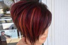 Curls & Fringe / Stylish Hair do