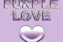 Purple love / by Martha Schutt