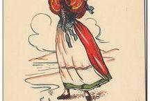 European costumes / by Debra Keinert