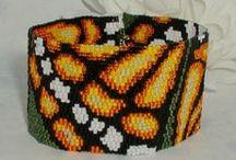 Beaded bracelets - peyote