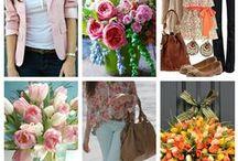Springtime / 2014 Spring Flowers & Fashion