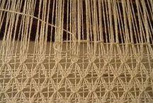 "Weaving / For weaving. I weave on a kromski harp 32"" rigid heddle loom and a cricket."