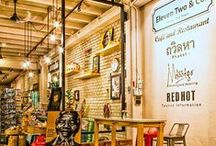 "Eleven Two & Co – Phuket / In the middle of Phuket's Old Town area, between the traditional restaurants and shops we have found ""Eleven Two & Co"". It felt like an oasis in the middle of the desert, very trendy and hip! http://www.urbanhypsteria.com/eleven-two-co/"
