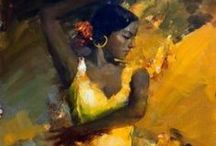 Angelika Privalihin / russian painter