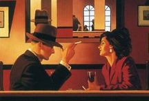 Jack Vettriano / Jack Vettriano OBE born Jack Hoggan (born 17 November 1951), is a Scottish painter