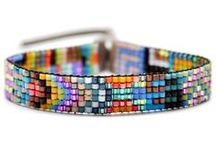 Beaded bracelets - loom
