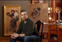 Daniel Gerhartz / paiting by artist Daniel Gerhartz