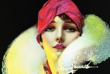 Rolf Armstrong / paiting by Rolf Armstrong