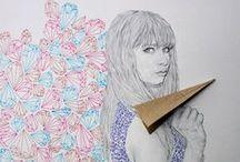 Niki Pilkington • drawing / Niki Pilkington est une artiste que j'ai découvert récemment en fouillant sur internet. ces dessins sont frais et colorés, j'adore !