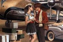Peregrine Heathcote / paiting by Peregrine Heathcote