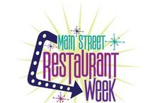 Main Street Restaurant Week / Orlando Main Street's Restaurant Week- A culinary event promoting Orlando's Main Street restaurants . #alocalthing