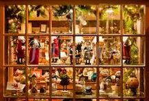 Christmas Windows Shops- Vitrines