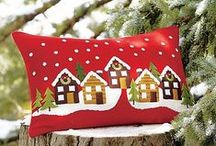 Christmas Pillows - Coussins
