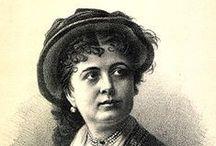 """Blaha Lujza / Blaha Lujza (született Reindl Ludovika, Rimaszombat, 1850. szeptember 8. – Budapest, Erzsébetváros, 1926. január 18.) magyar színésznő, """"a nemzet csalogánya""""..."""