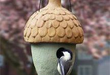 Ceramic Bird houses / Ceramic