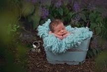 Newborn outside