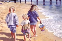 Art ~ A  Day At The Beach / by Lena Ray
