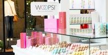 Woops! Boutique Kiosks / Our little carts of joy are spreading happiness throughout malls in the Northeast.