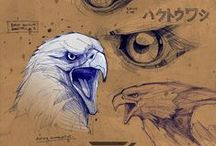 Art Tutorials / Various art tutorials and how-to ; from traditional sketching & drawing to digital illustration & painting