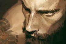 Character Design - Portraits / Character Design - digital portraits and conceptual works