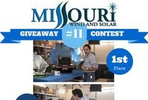 Wind Turbine Giveaway / Missouri Wind and Solar YouTube Giveaway Contests and Winners.  Just comment and subscribe to our YouTube channel for a chance to win!