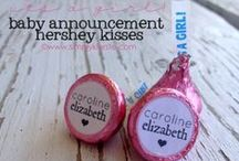 Birth Announcements - DYI / Ideas to craft your own announcement of the newest member of your family